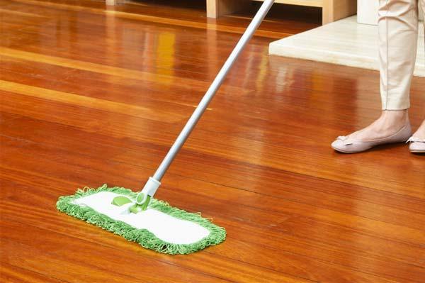 Lau khô lại bề mặt sàn