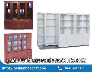 Tủ tài liệu nhiều ngăn Hòa Phát - Trợ thủ hành chính văn phòng