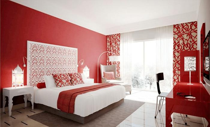 Phòng ngủ phù hợp cho người mệnh Hỏa