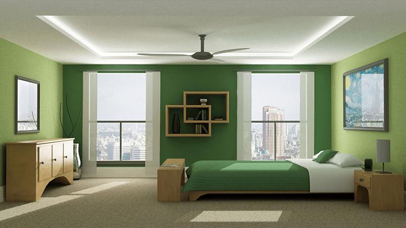 Phòng ngủ hợp mệnh Mộc
